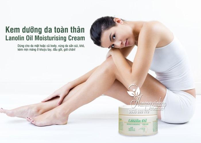 Kem dưỡng da toàn thân Lanolin Oil Moisturising Cream 250g 8