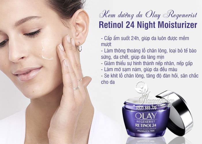 Kem dưỡng da Olay Regenerist Retinol 24 Night Moisturizer 5