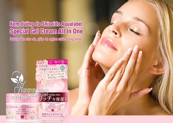 Kem dưỡng da Shiseido Aqualabel Special Gel Cream All In One 5