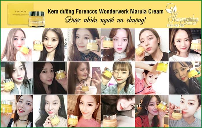 Kem dưỡng Forencos Wonderwerk Marula Cream màu vàng 5
