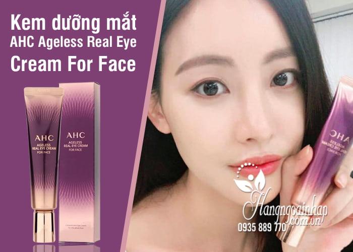 Kem dưỡng mắt AHC Ageless Real Eye Cream For Face 12ml 5