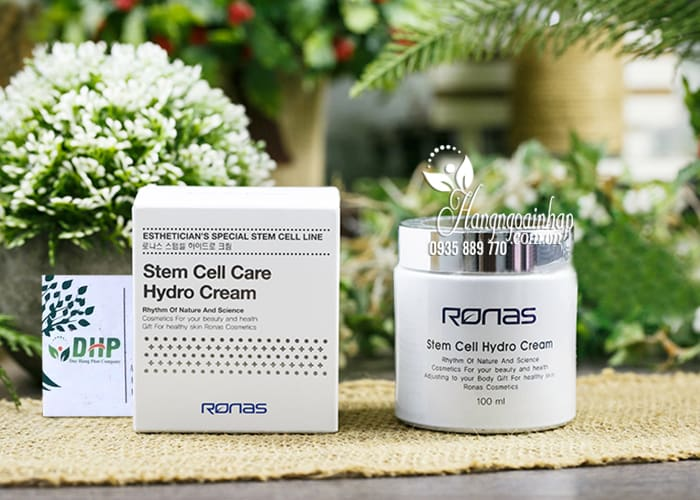 Kem dưỡng tế bào gốc Ronas Stem Cell Hydro Cream 100ml 7