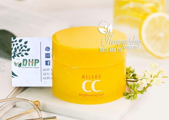 Kem dưỡng trắng da CC Melano Brightening Gel Rohto Nhật Bản 2
