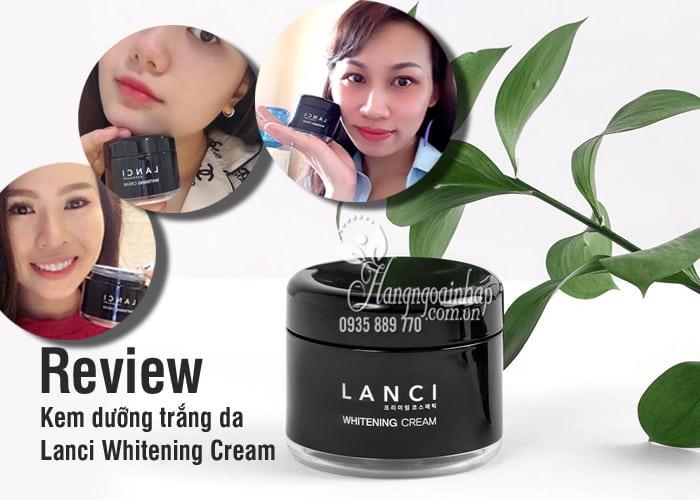 Kem dưỡng trắng da Lanci Whitening Cream 50ml Hàn Quốc 5