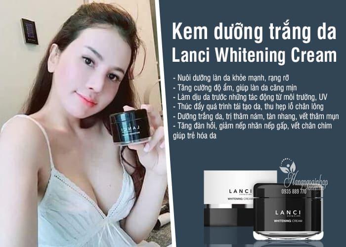Kem dưỡng trắng da Lanci Whitening Cream 50ml Hàn Quốc 2