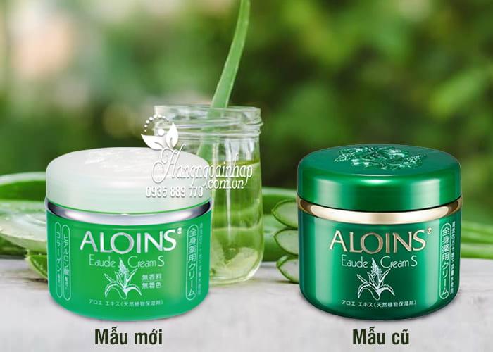 Kem Dưỡng Trắng Da Lô Hội Aloins Eaude Cream S 185g  4