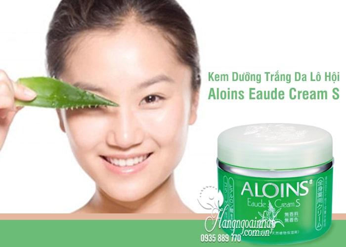 Kem Dưỡng Trắng Da Lô Hội Aloins Eaude Cream S 185g  1