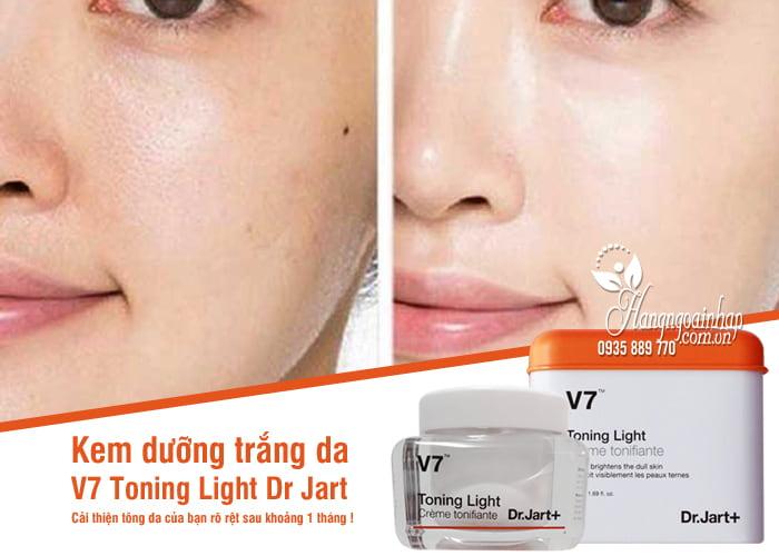 Kem dưỡng trắng da V7 Toning Light Dr Jart 50ml của Hàn Quốc00