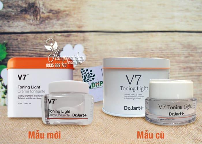 Kem dưỡng trắng da V7 Toning Light Dr Jart 50ml của Hàn Quốc 9