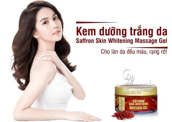 Kem dưỡng trắng da Saffron Skin Whitening Massage Gel 50mg 1