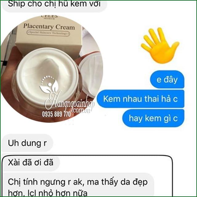 Kem dưỡng trắng da trị nám Celes Placentary Cream 50ml Hàn Quốc 2