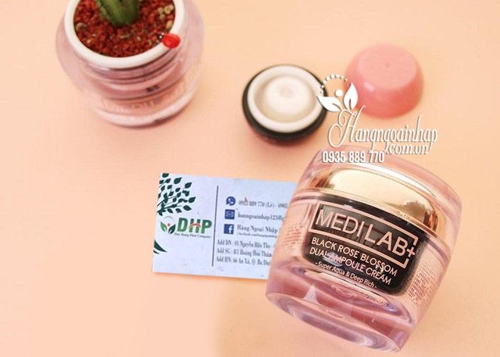 Kem hoa hồng đen Medilab Black Rose Blossom 50ml Hàn Quốc 8