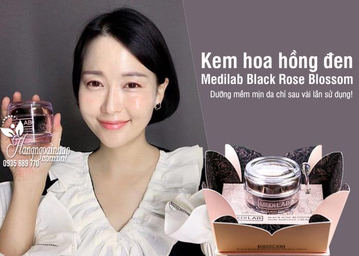 Kem hoa hồng đen Medilab Black Rose Blossom 50ml Hàn Quốc 6