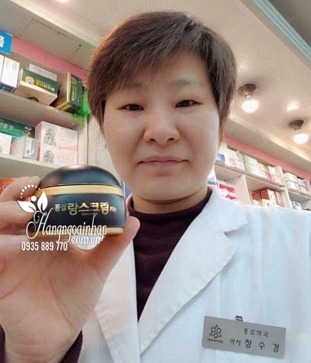 Kem trị nám Dongsung Rannce Cream Hàn Quốc, hộp 70g 6