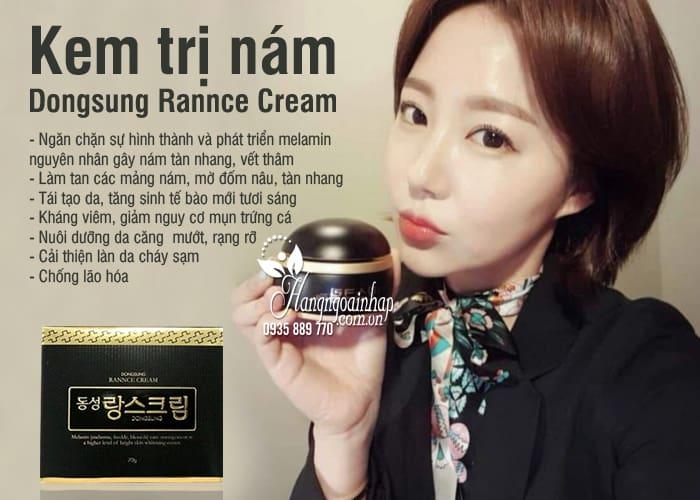 Kem trị nám Dongsung Rannce Cream Hàn Quốc, hộp 70g 4