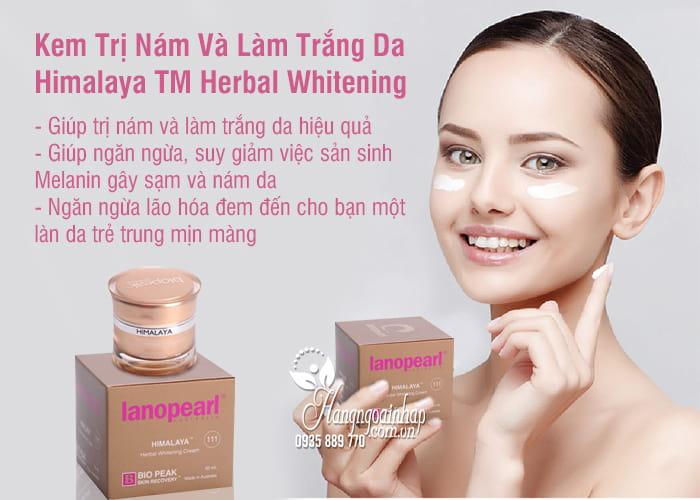 Kem Trị Nám Và Làm Trắng Da Himalaya TM Herbal Whitening 1