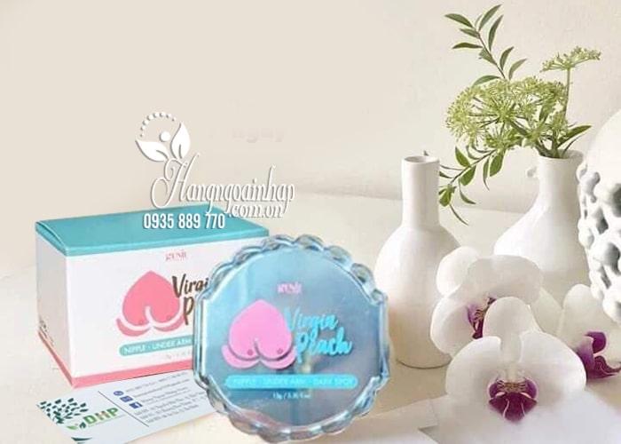 Kem trị thâm nhũ hoa, nách, bẹn Genie Virgin Peach Hàn Quốc 1