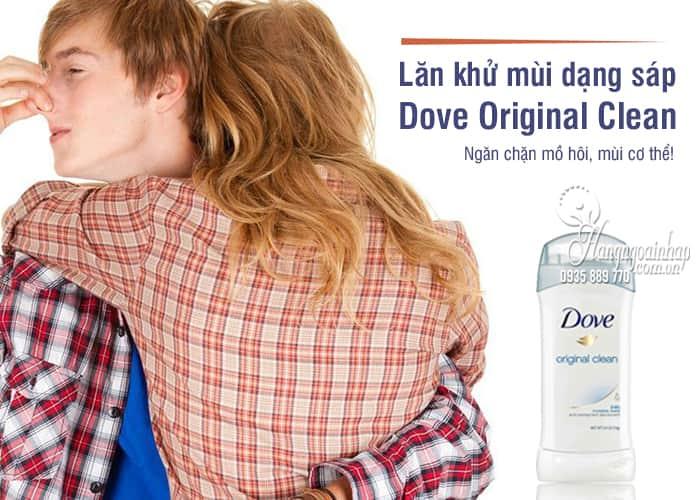 Lăn khử mùi Dove Original Clean 74g dạng sáp của Mỹv 1