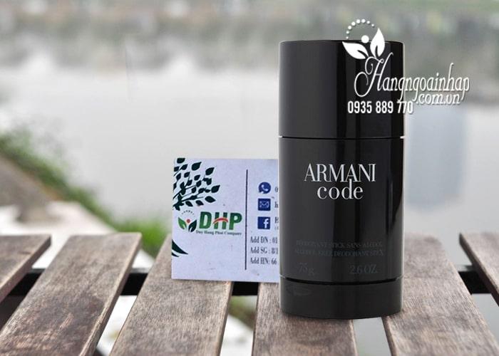 Lăn khử mùi nước hoa nam Armani Code 75g của Pháp 9