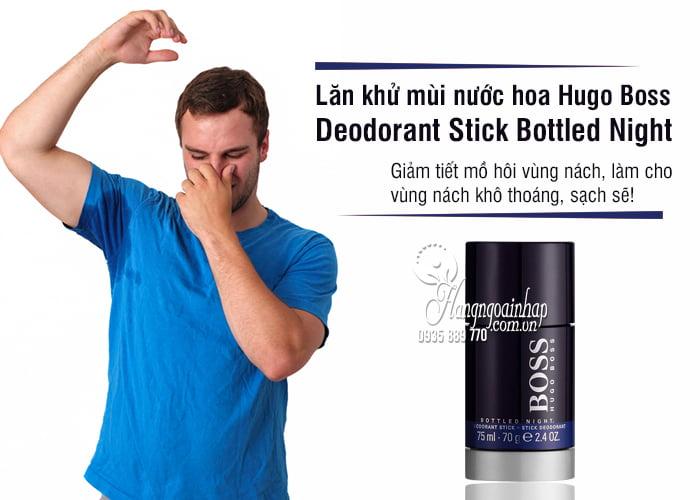 Lăn khử mùi nước hoa Hugo Boss Deodorant Stick Bottled Night 1