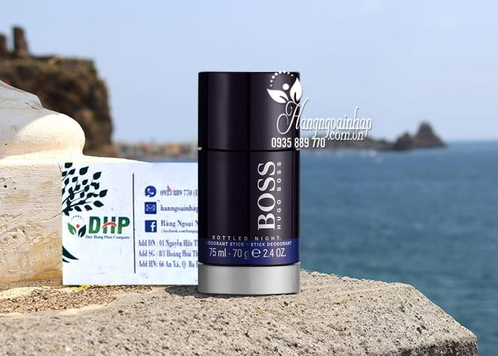 Lăn khử mùi nước hoa Hugo Boss Deodorant Stick Bottled Night 8