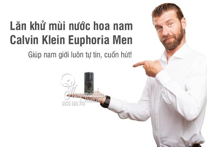 Lăn khử mùi nước hoa nam Calvin Klein Euphoria Men 75g 6