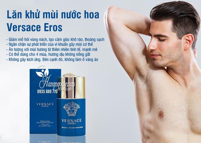 Lăn khử mùi nước hoa Versace Eros 75ml dành cho nam 67