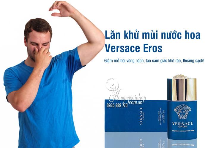 Lăn khử mùi nước hoa Versace Eros 75ml dành cho nam 24