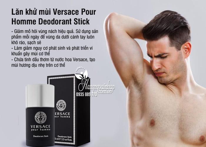 Lăn khử mùi Versace Pour Homme Deodorant Stick 75ml 6