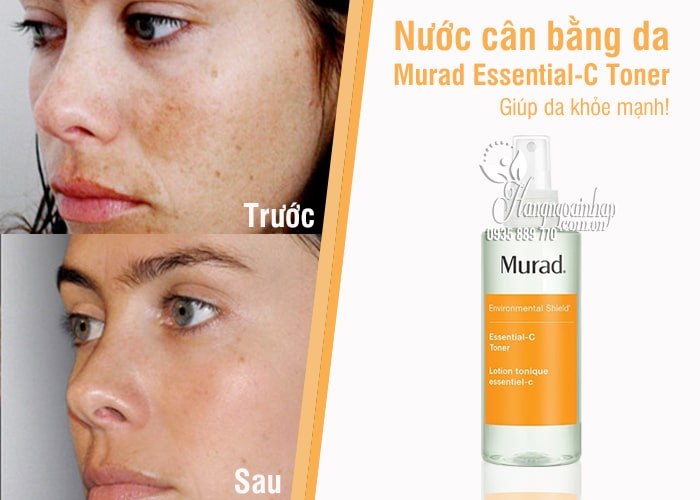 Nước cân bằng da Murad Essential-C Toner 180ml giúp da khỏe 2