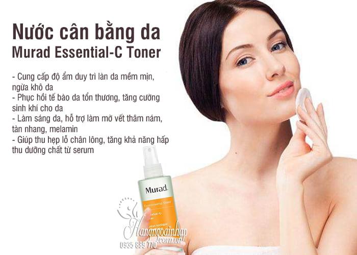Nước cân bằng da Murad Essential-C Toner 180ml giúp da khỏe 5
