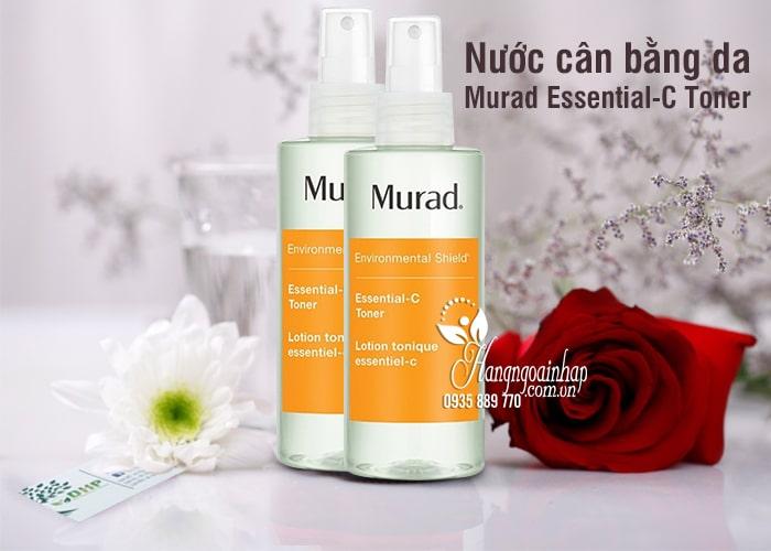 Nước cân bằng da Murad Essential-C Toner 180ml giúp da khỏe 7