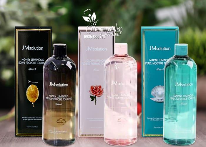 Nước hoa hồng cấp ẩm JM Solution Luminous Toner 600ml 1