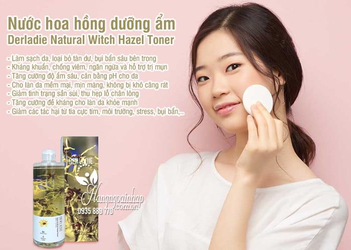 Nước hoa hồng dưỡng ẩm Derladie Natural Witch Hazel Toner 5