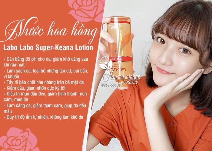 Nước hoa hồng Labo Labo Super-Keana Lotion của Nhật Bản 6