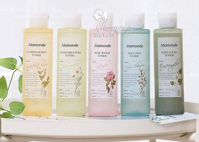Nước hoa hồng Mamonde Toner 250ml dành cho mọi loại da 7