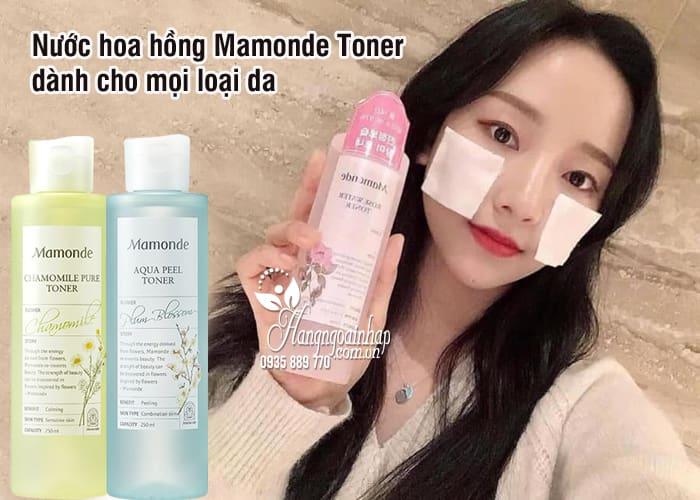Nước hoa hồng Mamonde Toner 250ml dành cho mọi loại da 2
