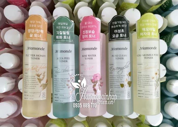Nước hoa hồng Mamonde Toner 250ml dành cho mọi loại da 1