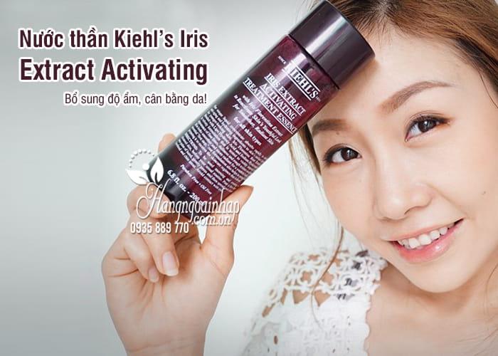 Nước thần Kiehl's Iris Extract Activating 200ml của Mỹ 1