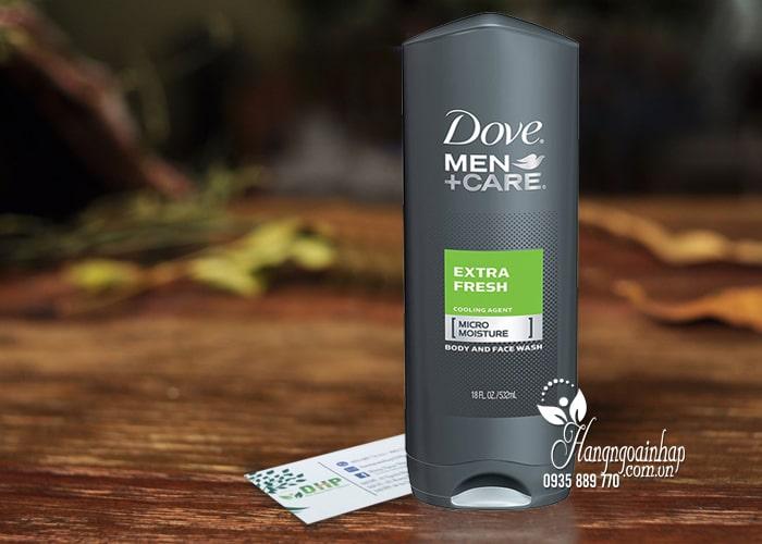 Sữa tắm và sữa rửa mặt Dove Men+ Care Extra Fresh 532ml 1