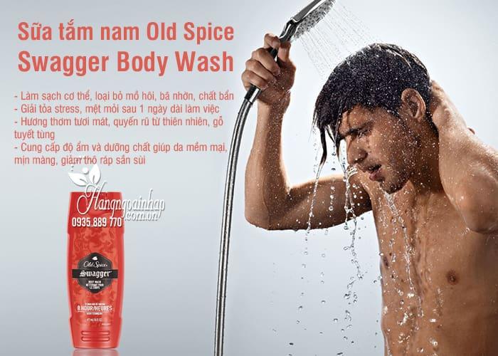 Sữa tắm nam Old Spice Swagger Body Wash 473ml Mỹ 2