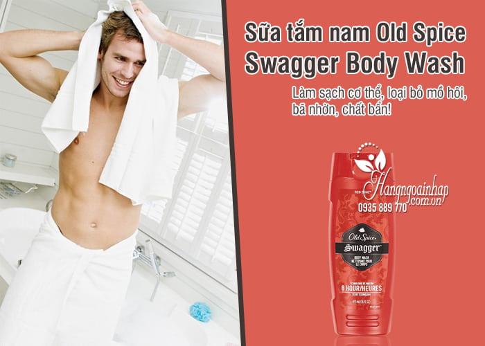 Sữa tắm nam Old Spice Swagger Body Wash 473ml Mỹ 1