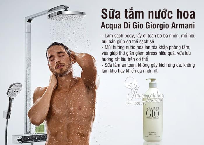 Sữa tắm nước hoa Acqua Di Gio Giorgio Armani 1 lít 3