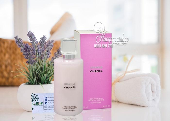 Sữa tắm nước hoa Chance Chanel Gel Douceur Body Cleanse 200ml 6