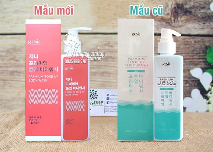 Sữa tắm trắng da Genie Premium Tone Up Body Wash 350ml 1