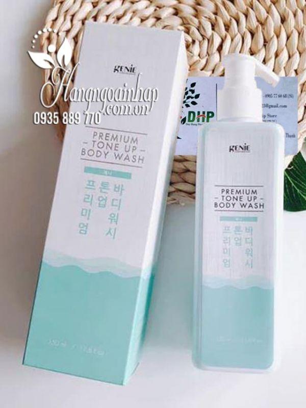 Sữa tắm trắng da Genie Premium Tone Up Body Wash 350ml 7