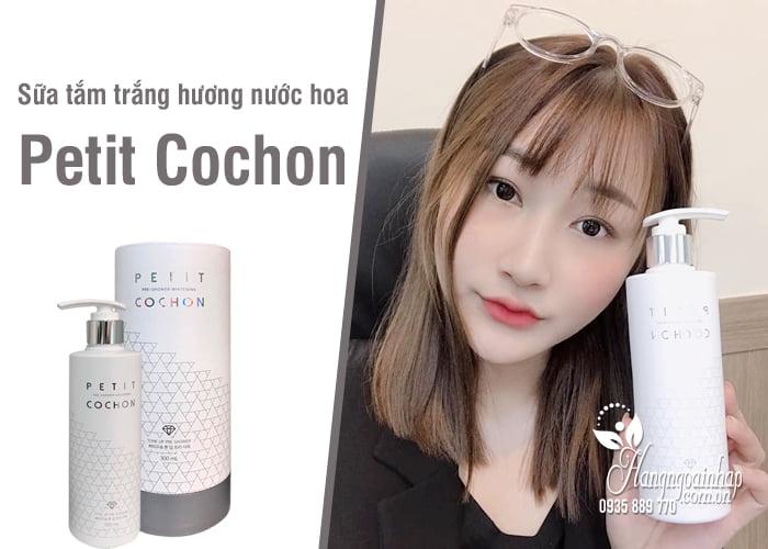 Sữa tắm trắng hương nước hoa Petit Cochon 300ml Hàn Quốc 8