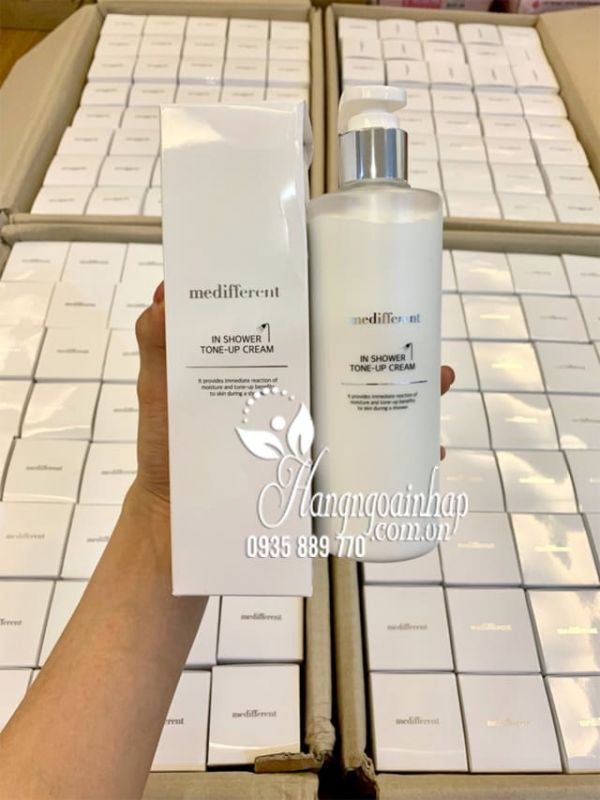 Sữa tắm trắng Medifferent In Shower Tone Up Cream Hàn Quốc 9