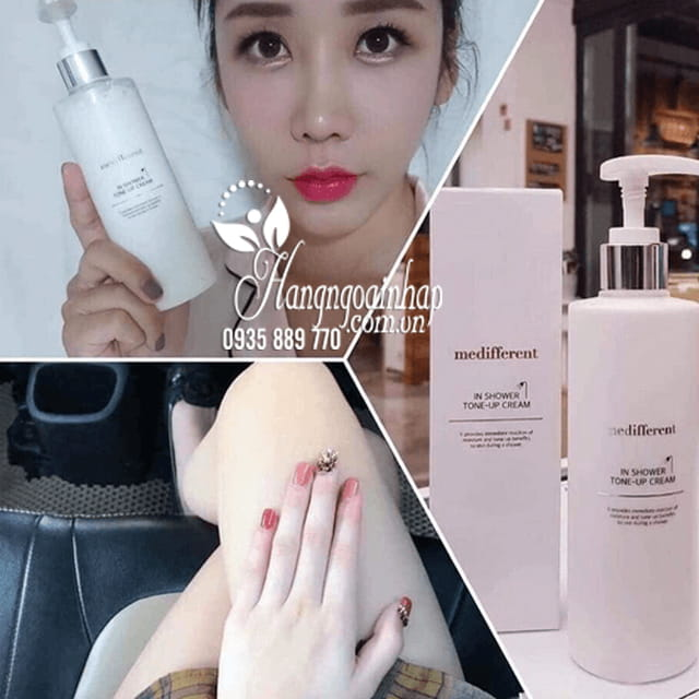 Sữa tắm trắng Medifferent In Shower Tone Up Cream Hàn Quốc 1