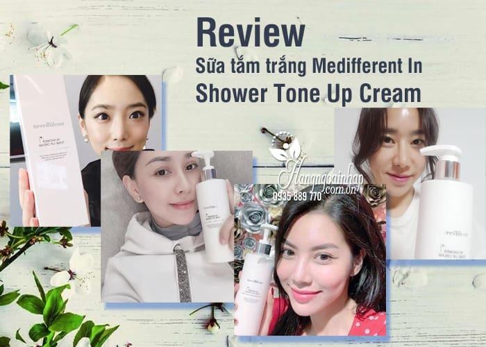 Sữa tắm trắng Medifferent In Shower Tone Up Cream Hàn Quốc 4
